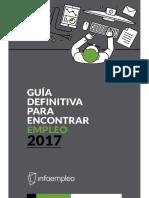 Guia Encontrar Trabajo 2017 Infoempleo