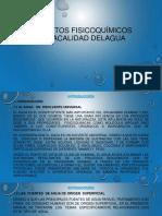 1.- ASPECTOS FISICOQUÍMICOS DE LACALIDAD DELAGUA.pptx