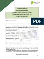 SEPARACION ENTRE PALABRAS_PDL 1°Ciclo-2016VF