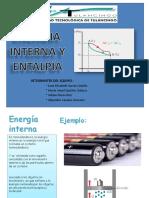 Energia Interna y Entalpia