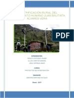 Proyecto de Electrificación Rural Final