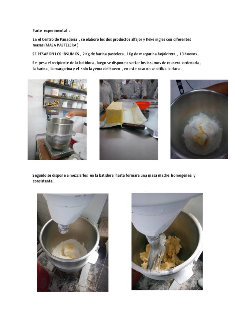 Batidora de masa de harina