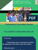 Palestras DEI Polic Escolar
