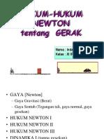 Hukum - Hukum Newton