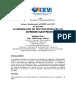Programa Coordinación de Protecciones