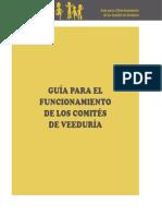 Guía Para El Funcionamiento de Los Comités de Veeduría SERPAJ Ecuador 2010
