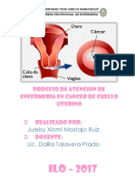 Pae de Cancer de CUELLO UTERINO