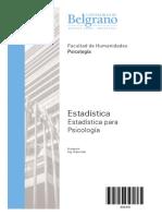 4218 - Completo - Estadistica Para Psicologia - Atar