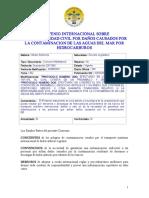 Convenio Internacional Responsabilidad Civil Danos