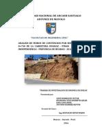 analisis dinamico de estabilidad de taludes
