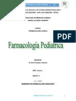 Seminario de Farmacologia Pediatrica Huertas