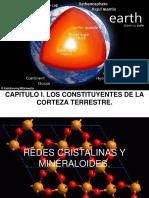 CAPITULO I Costituyentes de La Corteza Terrestre