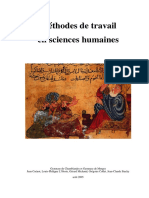 Sc.humaines METHODES 2005