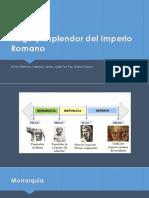 Auge y Esplendor Del Imperio Romano