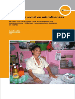Innovacion Social en Microfinanzas - Microseguro