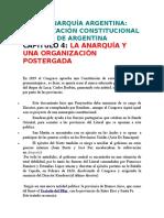 Resumen La Anarquía Argentina