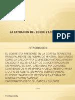 La Extracion Del Cobre y Lo Horno