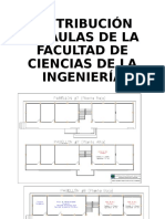 Distribución de Aulas de La Facultad de Ciencias