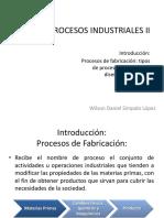 Tipos de Proceso y Diseño SESIÓN1