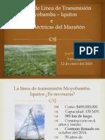 PUCP Línea de Transmisión Moyobamba –Iquitos