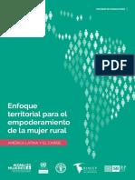 Enfoque Empoderamiento Mujer Rural en America Latina