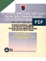 Triết Học Việt Nam Trong Bối Cảnh Du Nhập Các Tư Tưởng Đông Tây Nửa Đầu Thế Kỷ 20 - Trịnh Trí Thức