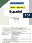 Plan 6to Grado - Bloque 3 Español (2015-2016).doc