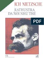 Zarathustra Đã Nói Như Thế  - Friedrich Nietzsche