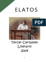 Varios - Relatos - Tercer Certamen Literario 2004