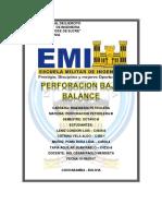 Perforacion Bajo Balance - Perfo III