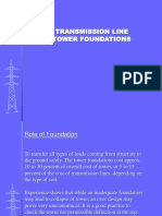 Transmission Line Foundations