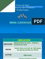 Ventilacion Mina Carahuacra