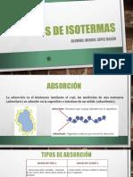 Tipos de Isotermas