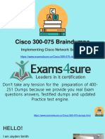 300-075 Practice Test With 100% Passing Guarantee