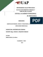 Agentes Bacterianos, Viricos y Parasitarios, Implicados en Infecciones Perinatale