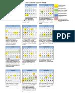 Calendario Alumnos 2017- Fac Ing.