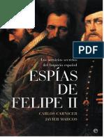 Espias de Felipe II - VV.aa