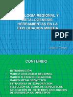 Presentacion Geologia Regional y Metalogenesis en La Exploracion Minera