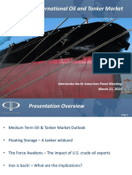 International Oil Tanker Market