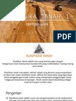 2. Klasifikasi Tanah Pertemuan II (1)