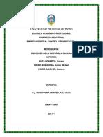 MODELO DE CARATULA DE TRABAJO UPLA