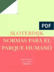Sloterdijk, Peter - Normas para el parque humano (1999).pdf