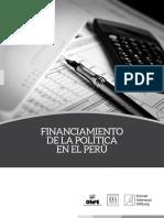 Financiamiento de La Política en El Peru - Onpe