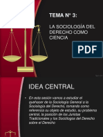 Tema n 3 La Sociologia Del Derecho Como Ciencia 1
