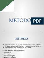 Metodos y Constructores
