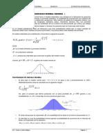 Distribución de Probabilidad Normal General y Estándar