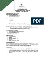 Informe de ensayo de Compresión Simple