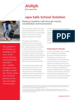 Avaya Safe School Solution By AlturaCS