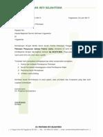 Surat Penagihan Pis