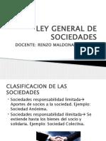 Ley General de Sociedades- II Parte